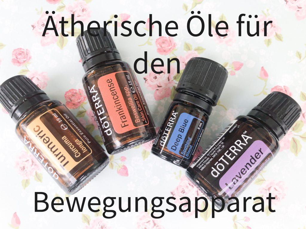 4 Ätherische Öle für Deine Gelenke