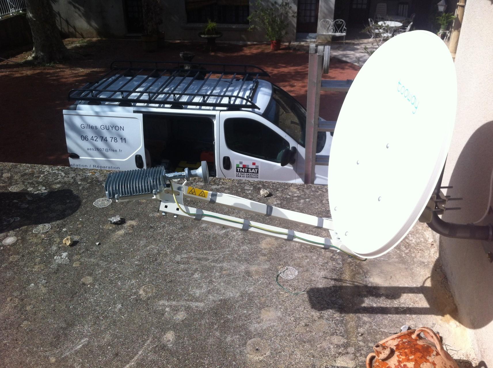 Internet par satelitte pour Nordnet Alsatis Ozonne ...