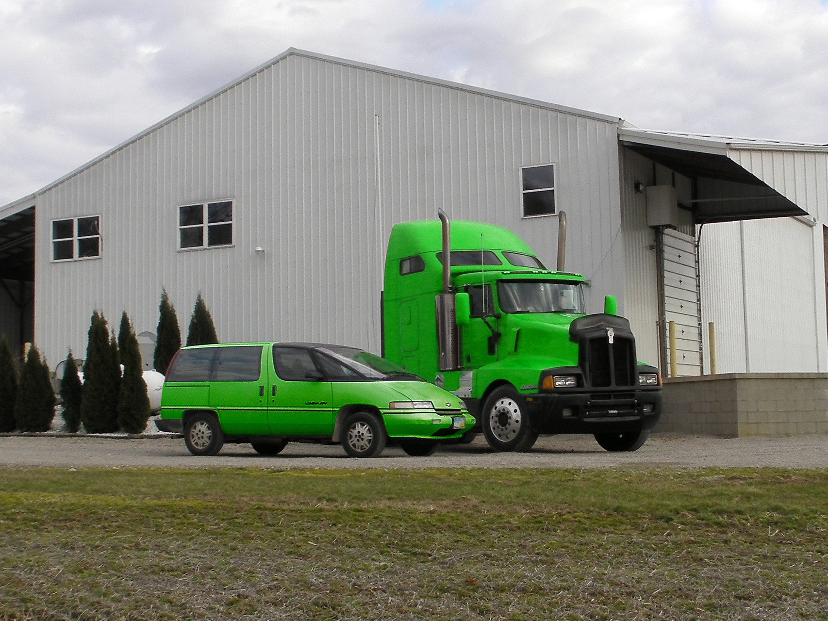 Niama-Reisser, llc First Semi Truck and Car test beds