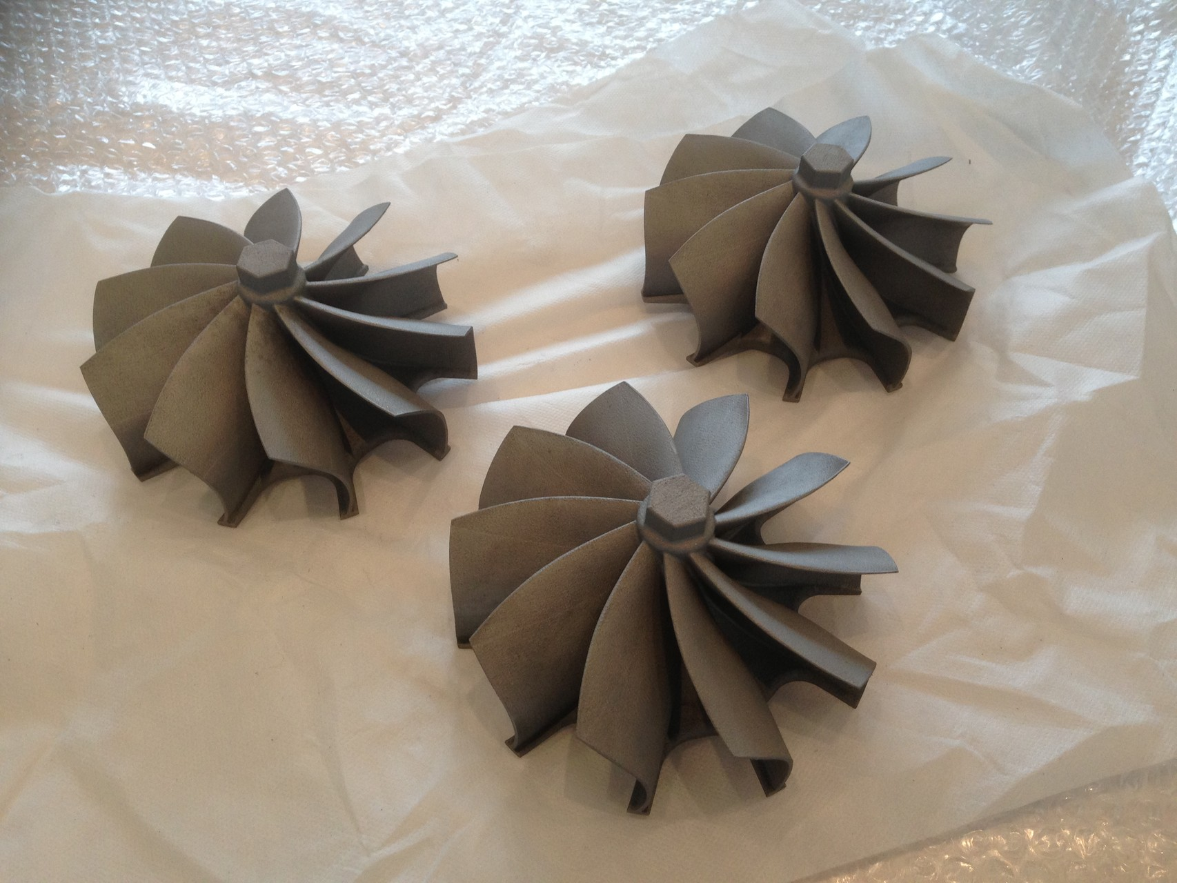 "NR Performance 5.5"" Inconel Turbine Impellers"