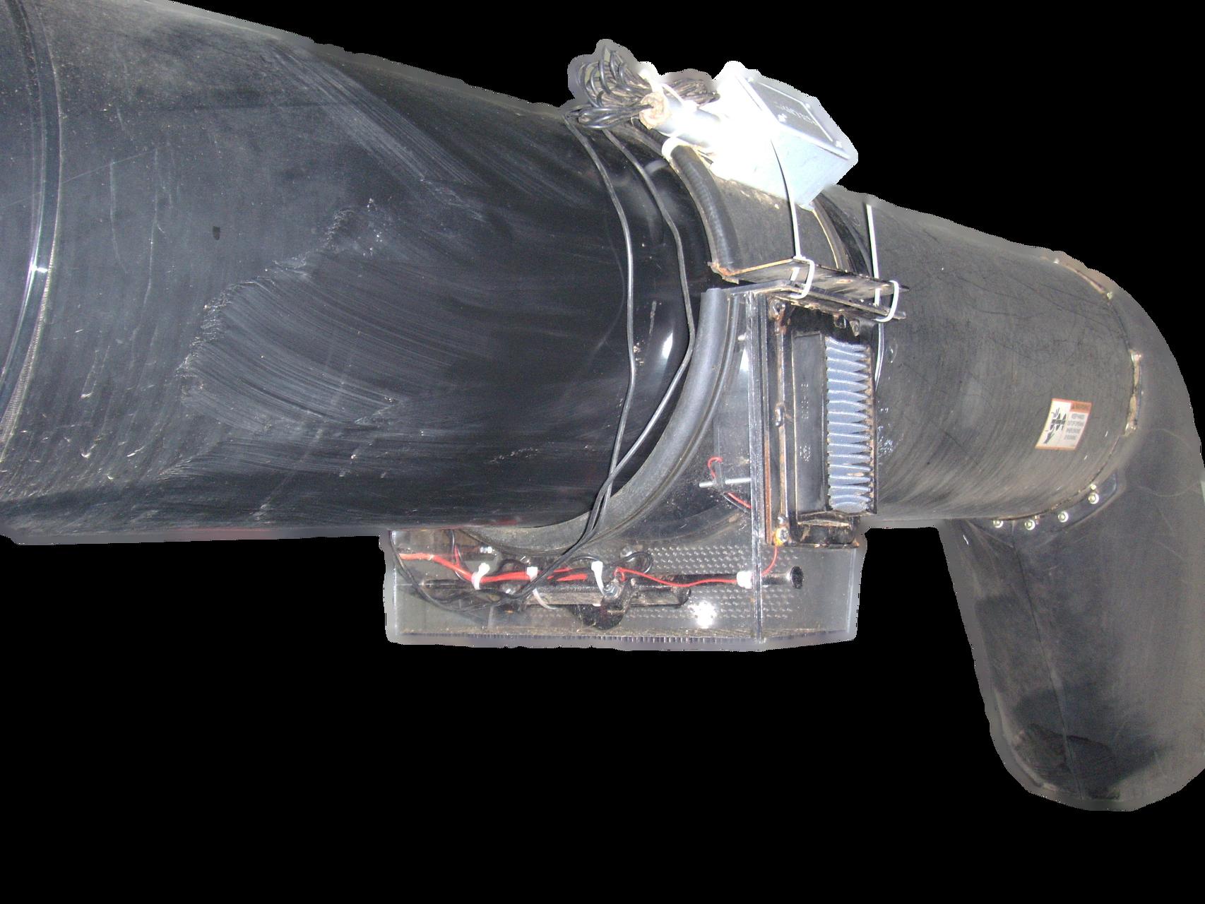 Combine Unloading Auger Camera System