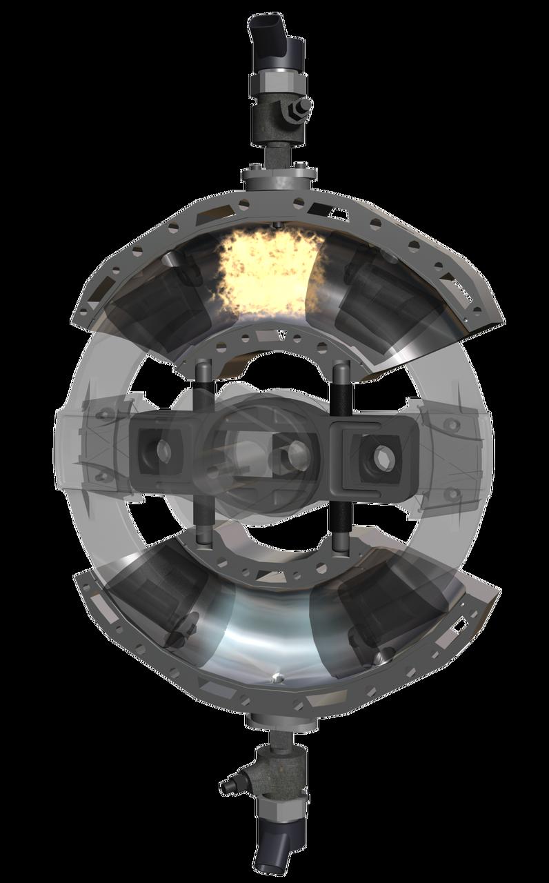 CHB-Evo. Internal Combustion Engine Opposing Piston Opposing Combustion Chamber