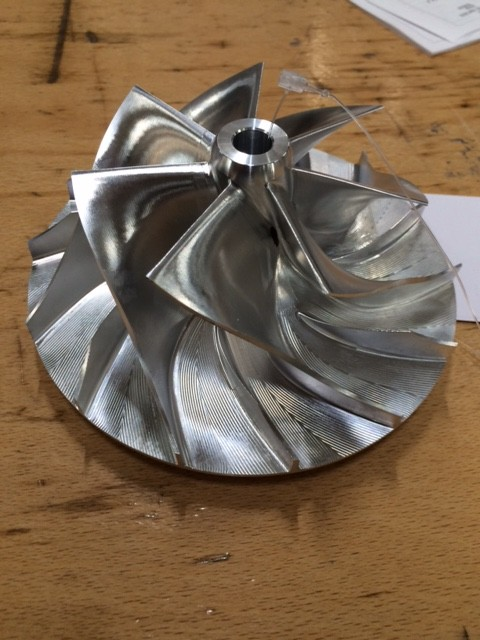 NR Optimizer HX82 High Performance Billet Compressor Impeller