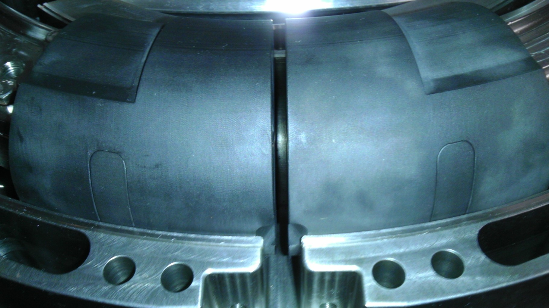CHB-Evo. Internal Combustion Engine Combustion Chamber TDC