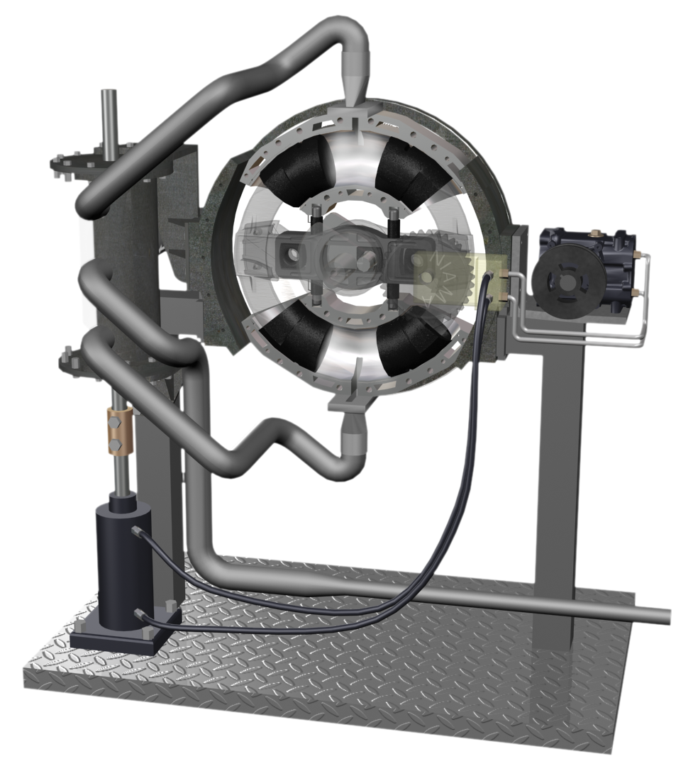 CHB-Evo. SE --Steam Engine-- Cross Sectional Steam Flow