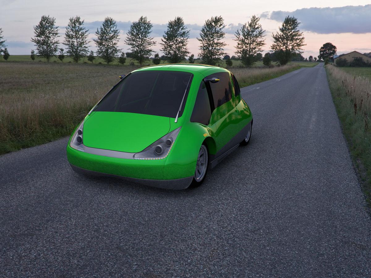 NR-1 Supermileage Car --200 Miles Per Gallon--