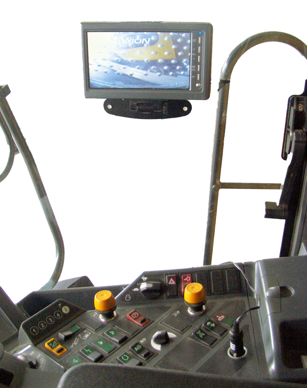 Grain Harvester Unloading Camera IN-CAB monitor