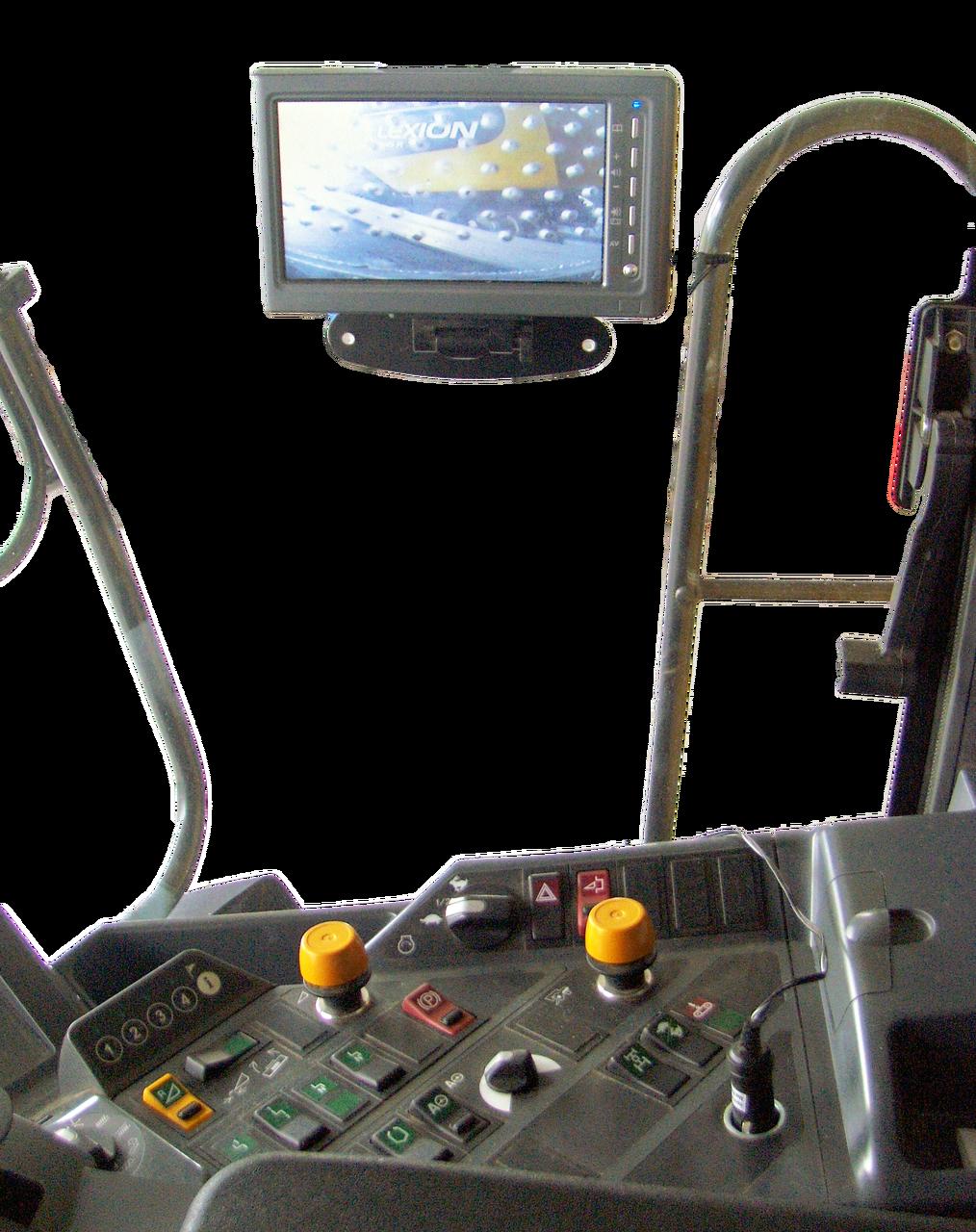 Grain Harvester Unloading Camera IN-CAB monitor