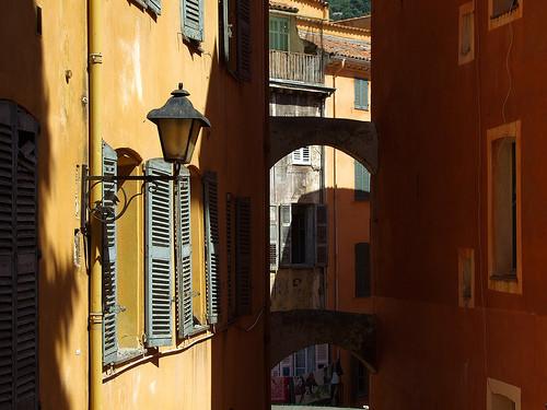 Grasse, rue de la vieille ville