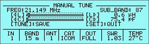 Schermata dell'accordo manuale