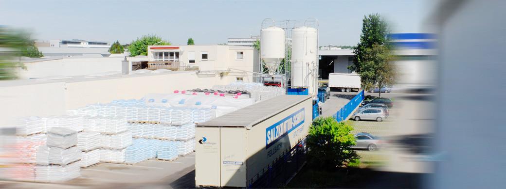 Auftausalz und Streusalz vom Grosshändler kaufen - Salzkontor Schmid Stuttgart Fellbach
