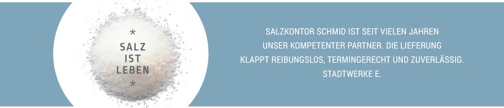 Salzkontor Schmid - Salzgroßhandel aus Stuttgart.