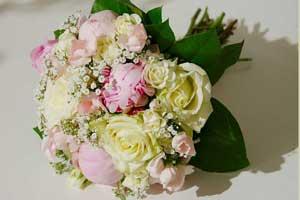 Brautstrauß im Biedermeier Stil Wien