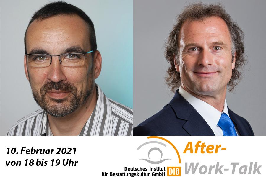 Virtueller After-Work-Talk am Mittwochabend