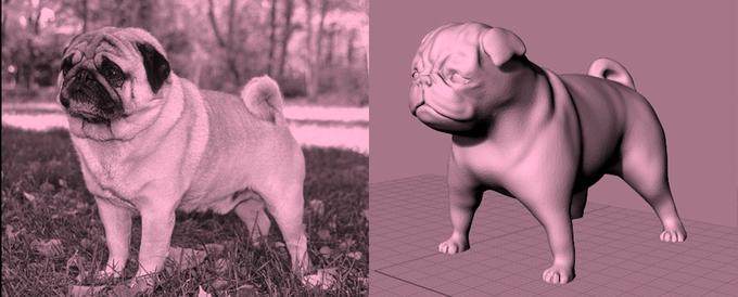 1. Disegno 3D del modello.