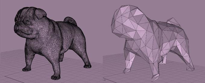 2. Ottimizzazione delle mesh.