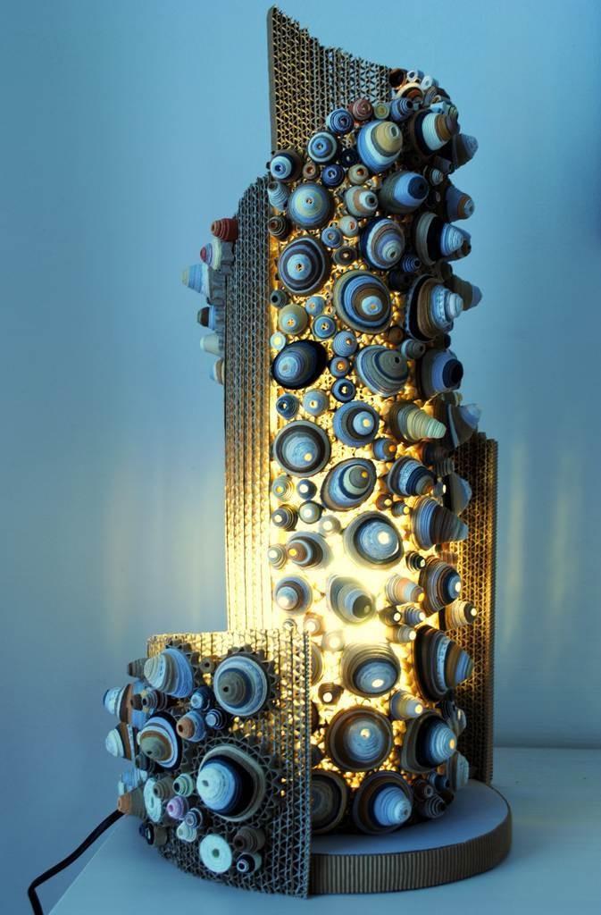 Conchiglie, la lampada di Roberta Lazzarato. SELEZIONATO A MATERIE 2012