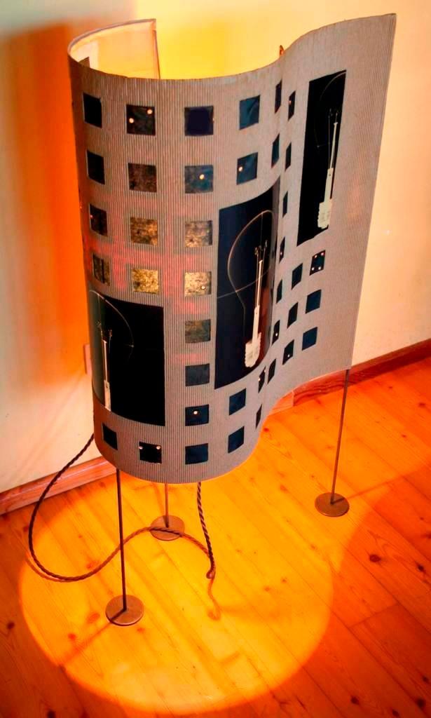 Onde, la lampada di Stefania Pallotta. SELEZIONATO A MATERIE 2012