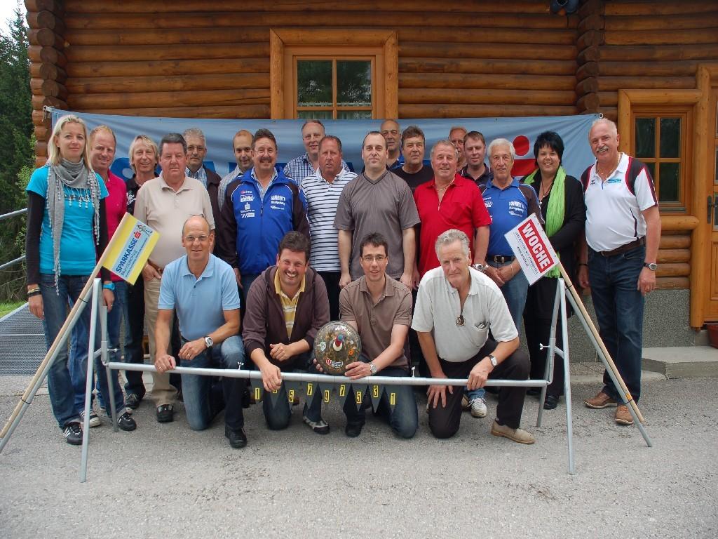 Gruppenfoto beim Granitzbauer