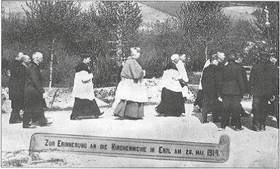 Kirchweihe am 26. Mai 1914