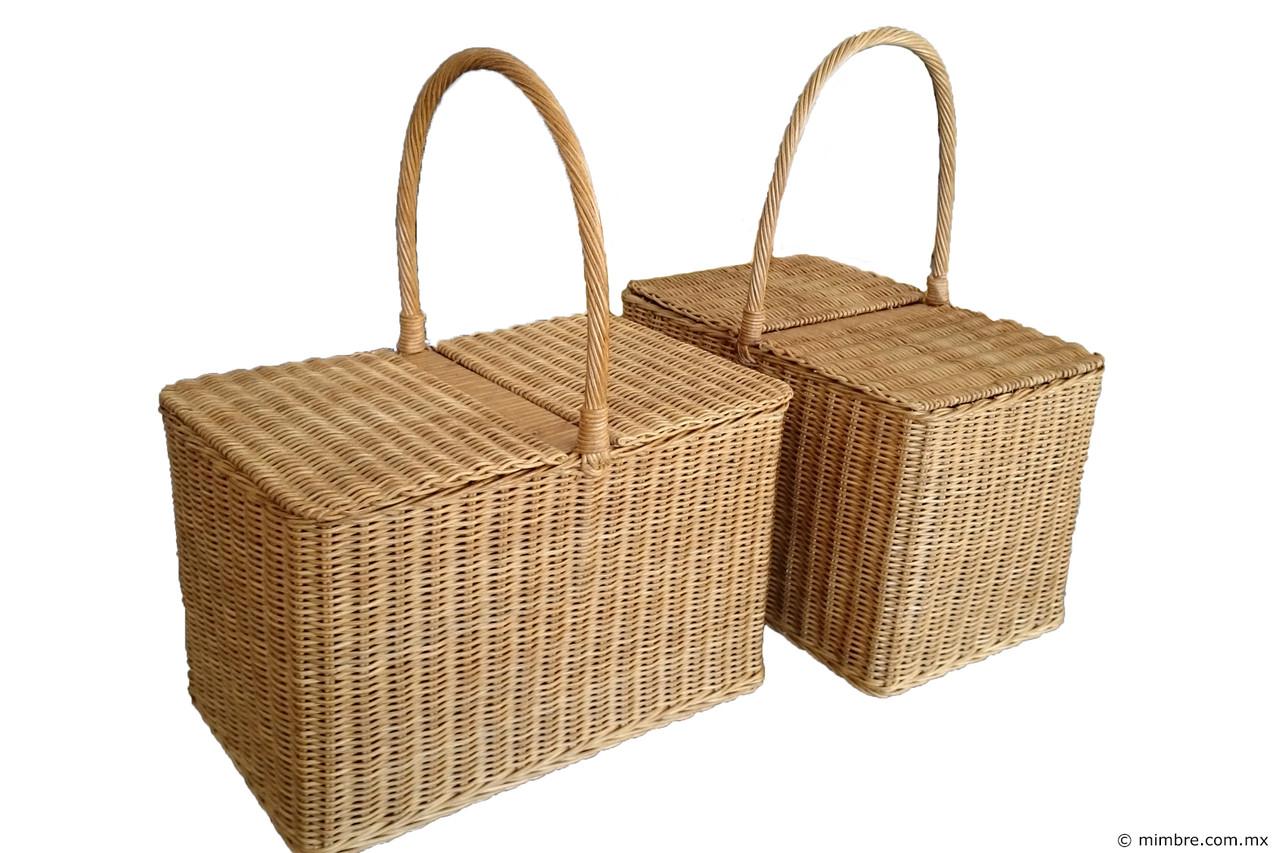 Canasta picnic distribuidora singapur tienda de mimbre for Fabrica de canastas de mimbre