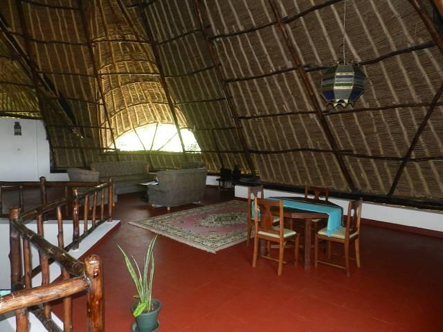 im oberen Stockwerk ist viel Platz im Ferienhaus Kenia