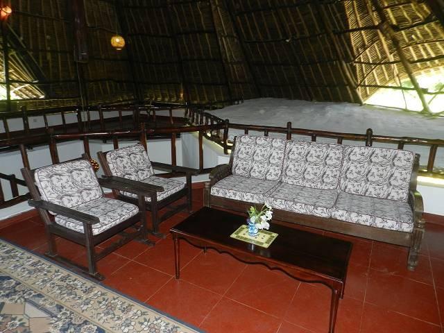 im oberen Stockwerk Platz im Kenia Urlaub