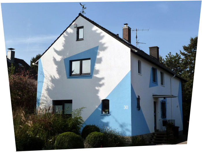 Fassadengestaltung (Design: Boje)