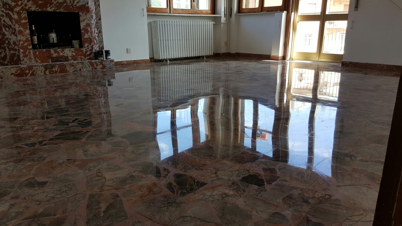 Lucidare I Pavimenti In Marmo lucidatura marmo genova - lucidatura pavimenti cemento