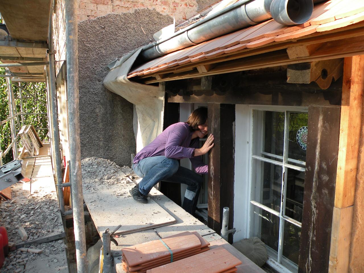 Der schnellste Weg aufs Dach...