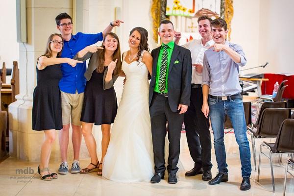 Hochzeit Break a tie