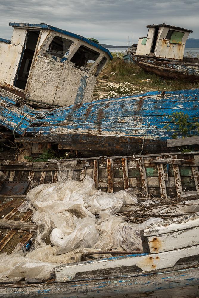 Shipwrecks in Patagonia