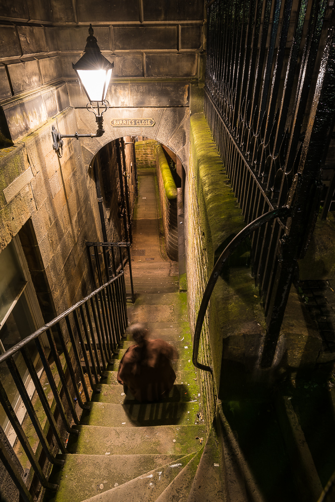 Barrie's Close, Edinburgh