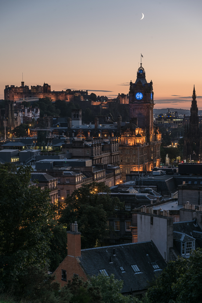 The Balmoral, Edinburgh Skyline