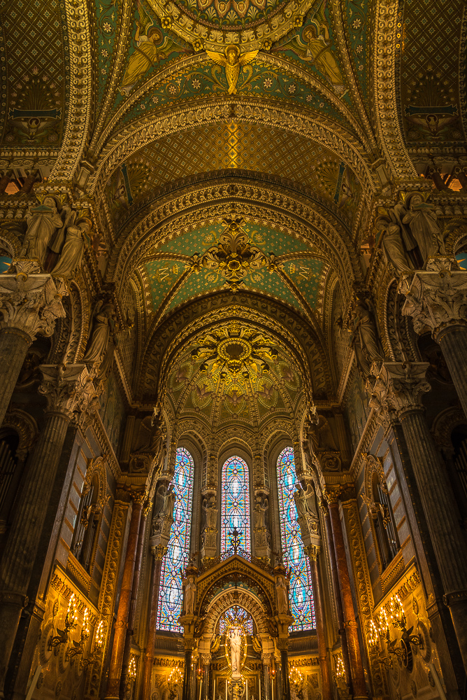 La Basilique Notre Dame de Fourvière, Basilica of Notre-Dame de Fourvière, Lyon