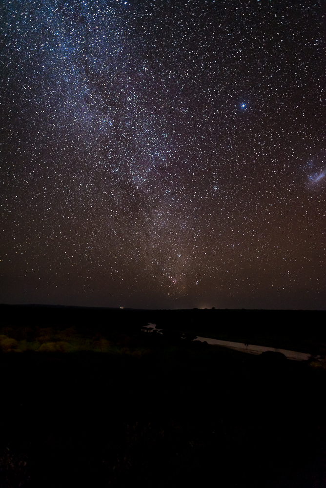 Milky Way, Tarangire River, Tarangire National Park