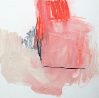 615.40x40 cm. Acryl auf canvas panel | Iris Lehnhardt 2019