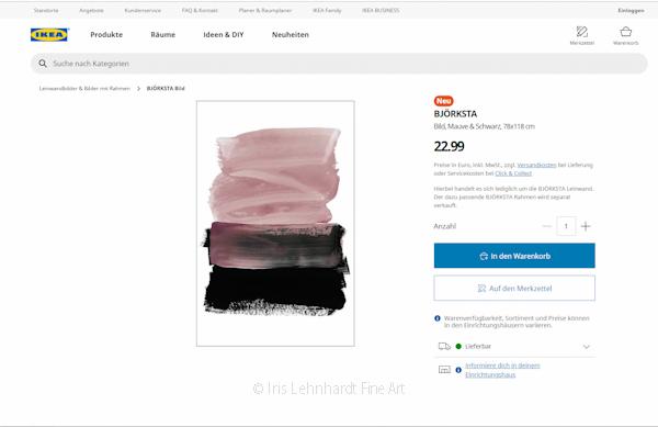 """Mauve & Black"" exklusiv bei IKEA"