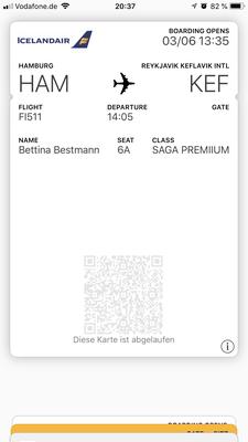 Ganz einfach, ein Flug von Hamburg nach Reykjavik: Koffer abgeben, in die Business Lounge und los geht's