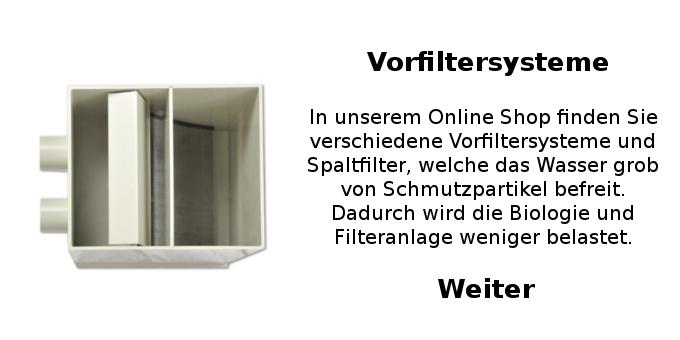 Mechanischer Vorfilter Vorfilter Teichfilter Filter koifilter