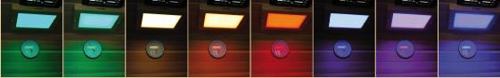 8 Farben LED-Licht