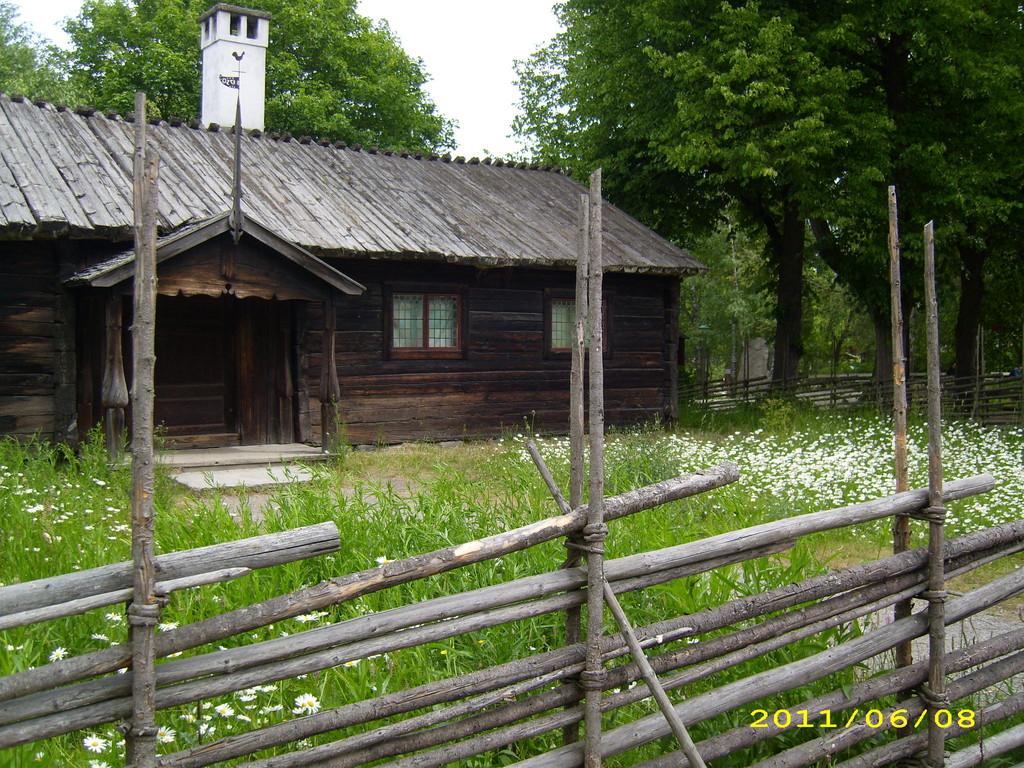 typ. schwedischer Zaun; LandFrauen Bordesholm