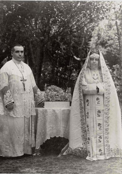 Nuestros primeros fundadores con los que nació la Esclavitud (Padre Federico y Madre Rosarito)