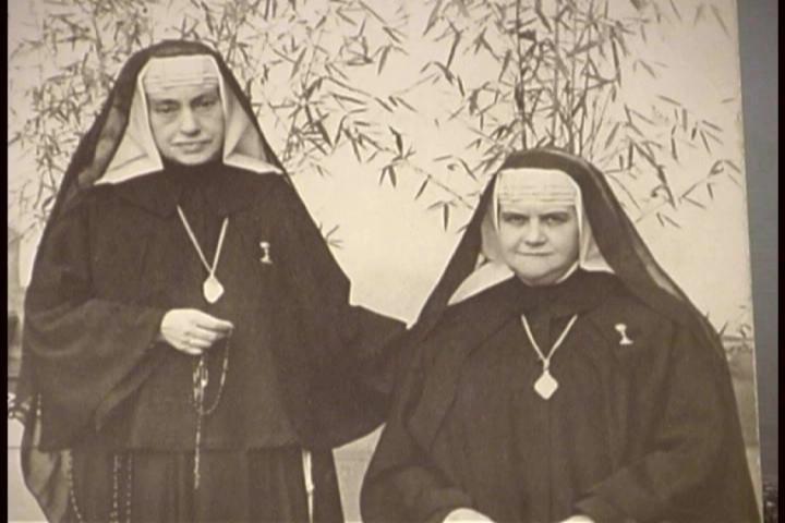 Madre Almita a quien la Madre Rosarito dejó de encargada de la congregación Esclavas de la Inmaculada Niña en México.