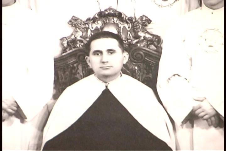 Padre Vicente Echarri Gil (fundador de los misioneros de la Natividad de María) en su juventud