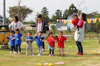 おじいちゃん&おばあちゃんと運動会!
