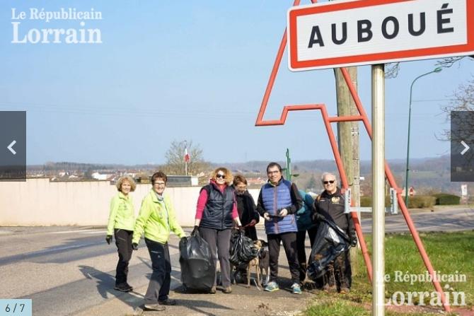 Participation au nettoyage de printemps 23 mars 2019