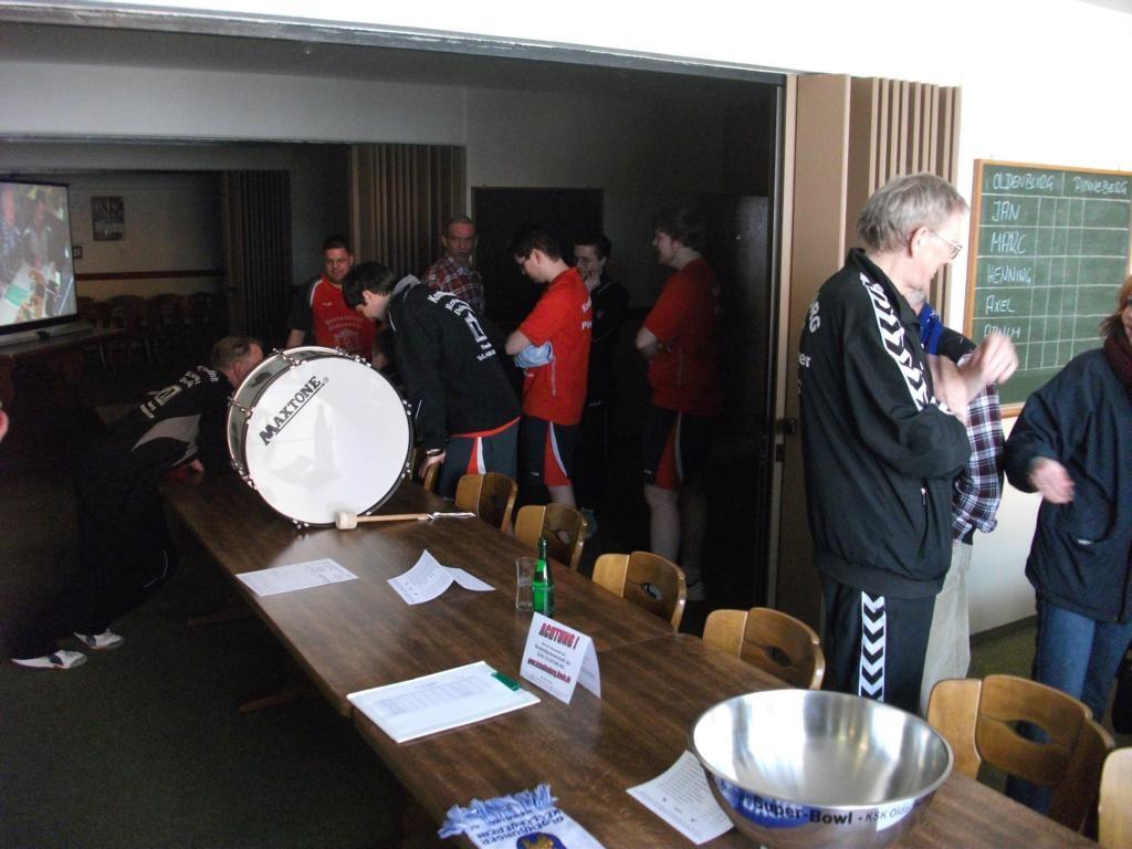 Vor dem Spiel gegen Pinneberg
