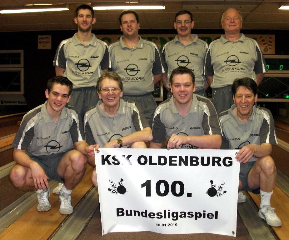 Das 100. Bundesligaspiel des KSK Oldenburg in Deinstedt