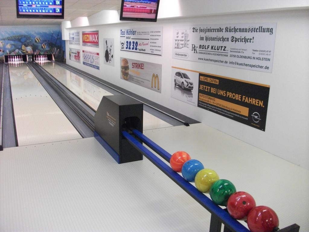 Unsere neuen Bowlingbahnen